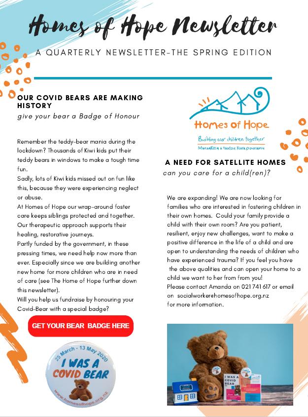 Sprint Newsletter cover photo