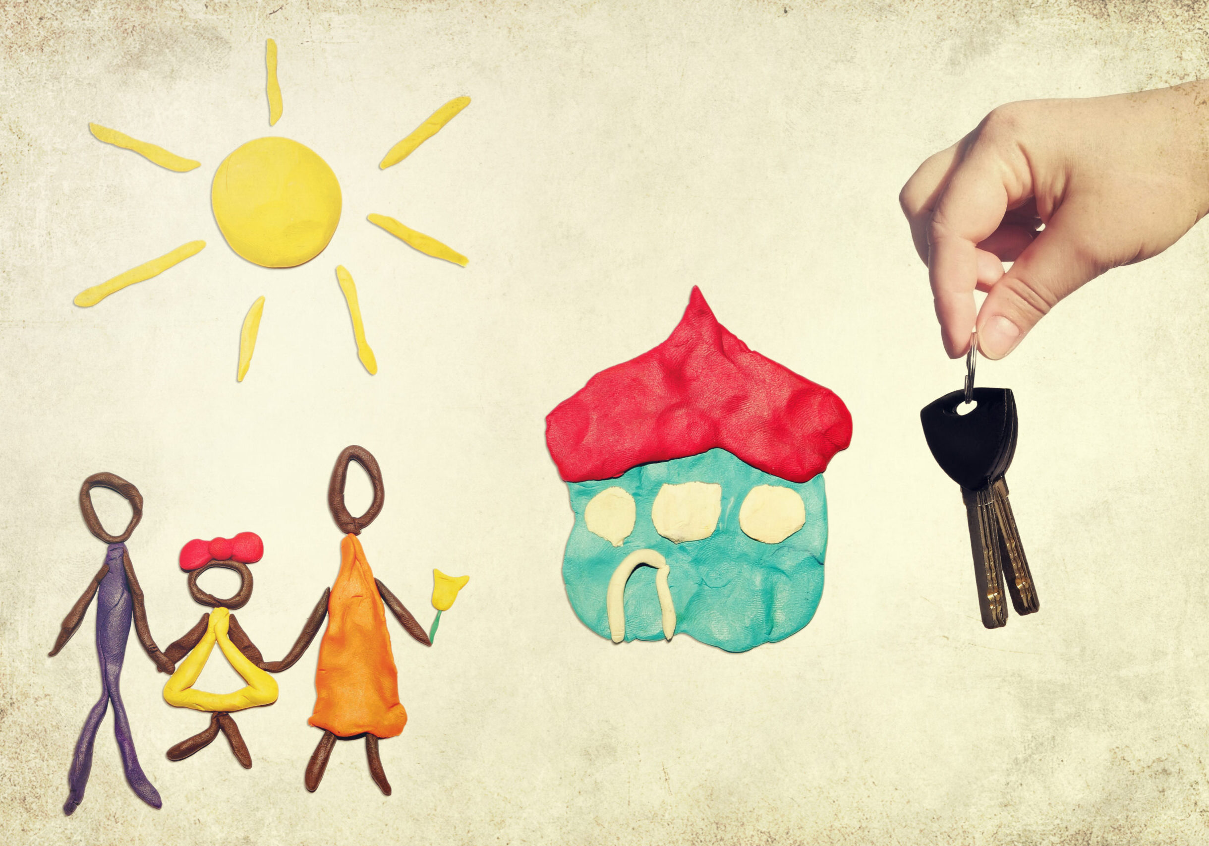 Handing,Over,The,Key,Of,A,New,House,To,Happy
